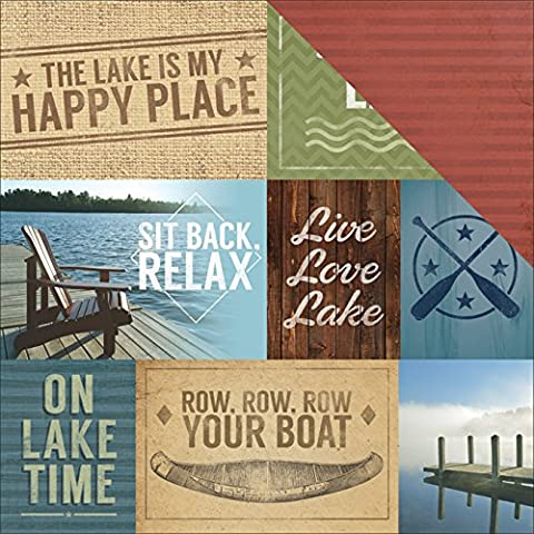 Lago Life Paper House Double Sided Cardstock-12