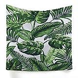 xkjymx Hängetuch Dekotuch Tropenpflanze Druckteppich Bild 4 150X130cm