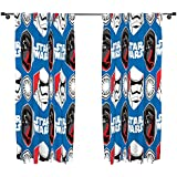 character world 72-Inch Star Wars Episode 7 Awaken Curtains, Multi-Colour