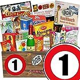 Suessigkeiten Box | Ostalgie Set | Zahl 1 | Geschenkset 1. Jubiläum