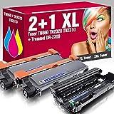 2 Kompatible Toner TN-2320 mit 1x Trommel DR-2300 für Brother DCP-L2500D DCP-L2500 DCP-L2520DW DCP-L2540DN DCP-L2560CDN DCP-L2560CDW DCP-L2560DN DCP-L2560DW DCP-L2560 DCP-L2700DW HL-L2300D HL-L2300 HL-L2320D HL-L2321D HL-L2340DW HL-L2360DN HL-L2360DW HL-L2361DN HL-L2365DW HL-L2380DW MFC-L2700DN MFC-L2700 MFC-L2701 MFC-L2701DW MFC-L2703DW MFC-L2720DW MFC-L2740CW MFC-L2740DW ms-point®