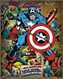 Marvel : Captain America Mini Poster 40 x 50 cm
