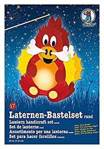 "URSUS Set de lanternes ""dragon de feu"""
