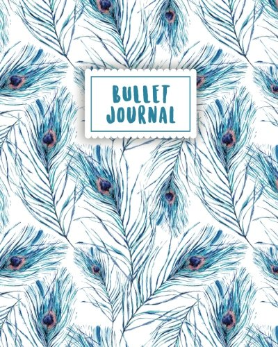 Enjoy Pdf Bullet Journal Blue Peacock Feather 150 Dot