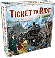 Days of Wonder DOW7202 Ticket to Ride: Europe