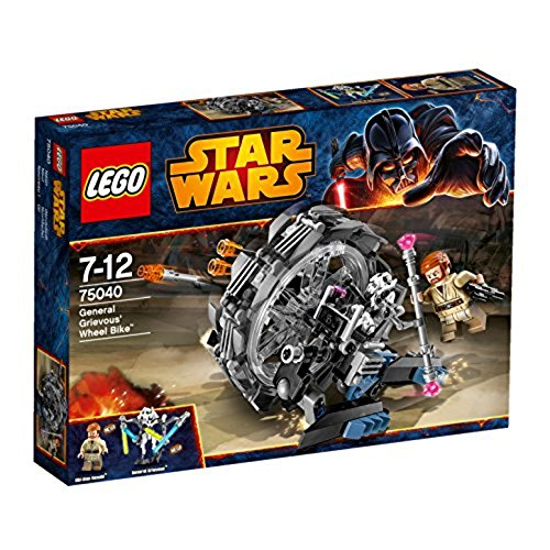 - General Grievous Wheel Bike (Lego General Grievous Starfighter)