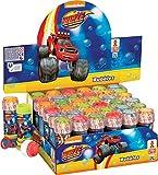 Dulcop Bubble World - Bolle Di Sapone - Blaze - Espositore 36 Flaconi 60 Ml immagine