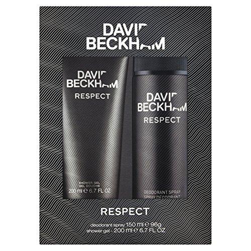 David Beckham Salutations Geschenkset 150ml Deodorant Spray + 200ml Duschgel