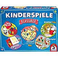 Schmidt-Spiele-49189-Kinderspiele-Klassiker-Kinderspielesammlung-bunt Schmidt Spiele 49189 Kinderspiele Klassiker, Kinderspielesammlung, Bunt -