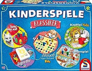 Schmidt Spiele 49189Niños Juegos clásico, niños Parte Colección