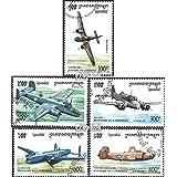 sellos para coleccionistas: Camboya 1529-1533 (completa.edición.) matasellado 1995 Aviones de combate en 2. guerra mundial