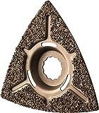 Herkules Delta Hartmetall Schleifplatte abgekröpft 110x110x110mm für Fliesenkleber,Beton, Stein und Holz M8530