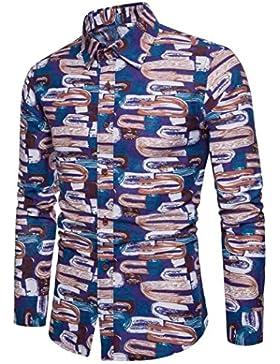 Xinxinyu Camicia Casual - Uomo
