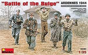 """MINIART Echelle 1: 35""""Bataille de la bosse, Ardennes 4937,8cm Kit de modèle en plastique"""