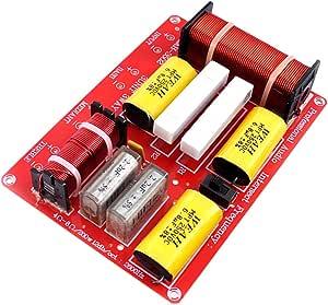 3 Wege Hochtöner Mitteltöner Tieftöner Bass Audio Frequenzteiler Frequenzweiche Modul Für 250w Lautsprecher