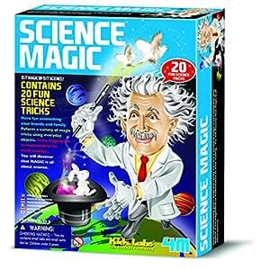 Science Magic- Giochi scientifici - KidzLabs Scienza divertente 4M [importato da UK]