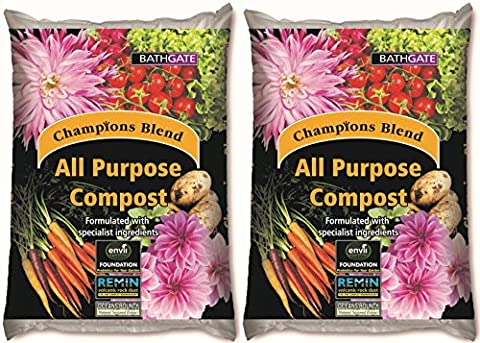 Bathgate Champions Blend (100L) – Premium, Multipurpose Compost Protects Plants & Provides Vital