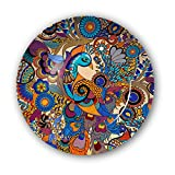 #7: Kolorobia Peacock Decorative Plate