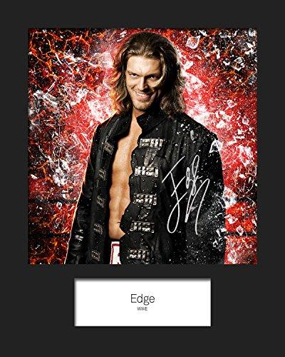 Edge 8x10 Foto (Edge–WWE # 1signiert Foto 10x 8drucken)