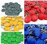 100Stück RFID-Schlüsselanhänger EM 4100/4102Chip Schlüsselanhänger 125Khz Proximity ID Tags/Schlüsselanhänger