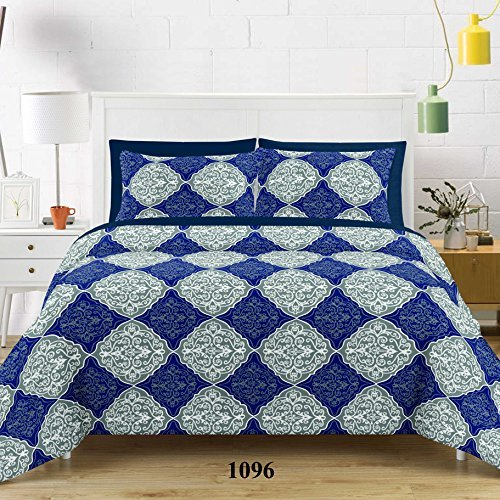 Linenwalas 100% Cotton 144 TC Ethnic Print Single Size Dohar Ac/Comforter - 54