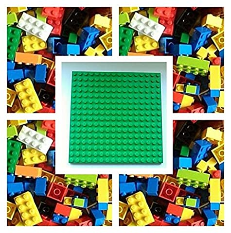 LEGO 200 NEW Bricks Building Blocks & 1 x 16x16 Baseplate Base Taken from Brand New sets and Supplied by Bricks and Baseplates