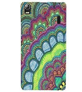 Citydreamz Traditional Rangoli Design/Abstract Pattern Hard Polycarbonate Designer Back Case Cover For Lenovo K3 Note