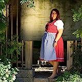 MADDOX Moossee Damen Trachten Dirndl Große Größen, Multi Color, 52