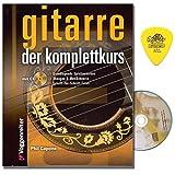 Gitarre der Komplettkurs von Phil Capone - Gitarrenschule mit CD und Dunlop Plek - Vom Stimmen der Gitarre und der richtigen Haltung bis zu Akkorden, Tonleitern und den Grundlagen der Harmonielehre