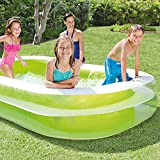 "Intex Swim Center Family Inflatable Pool, 103"" x 69"" x 22"""