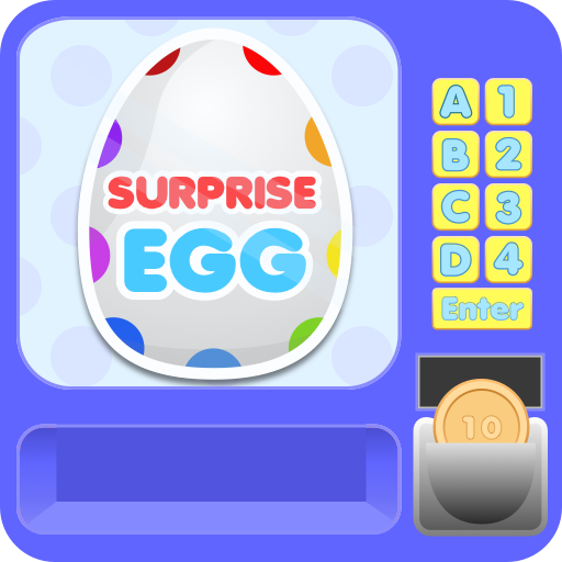 Surprise Egg Vending Machine - Collect All The Toys (Für Shopkins Shopping)