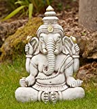 Diseño de tamaño grande Garden - Ganesh de Buda de la Estatua de la piedra