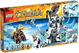 LEGO Legends of Chima Set #70147 Sir Fangar's Ice Fortress - Legends of Chima
