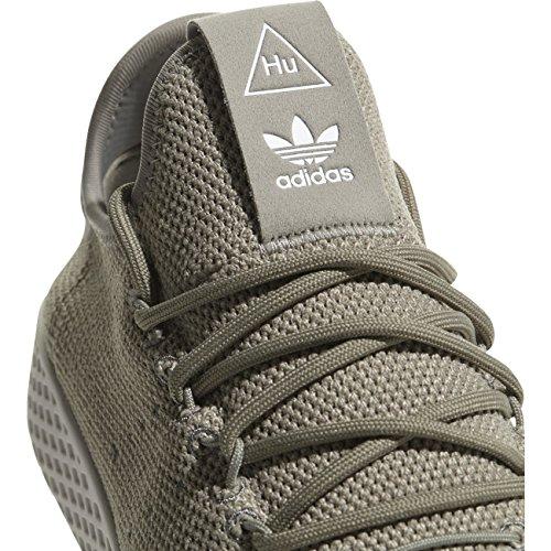 online store e9073 d7f39 ... adidas Pharrell Williams Tennis Hu Herren Sneaker Grün Beige ...