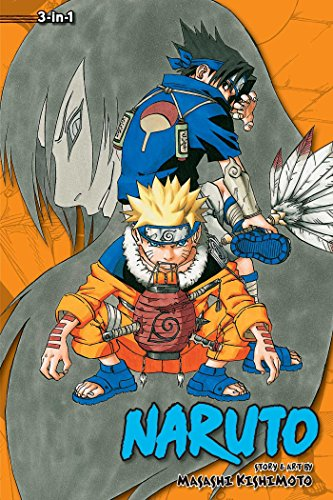 NARUTO 3IN1 TP VOL 03 (C: 1-0-1) (Naruto (3-in-1 Edition))