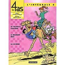 Les Quatre As, tome 6 (l'intégrale) : Le Vaisseau fantôme - Le Diamant bleu - La Licorne
