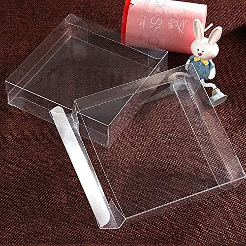 7,5 * 7,5 * 1 cm Günstige klar kunststoff pvc box verpackung boxen für geschenk//süßigkeiten/kosmetik/kleine transparente pvc Box (Klare Pvc-boxen)