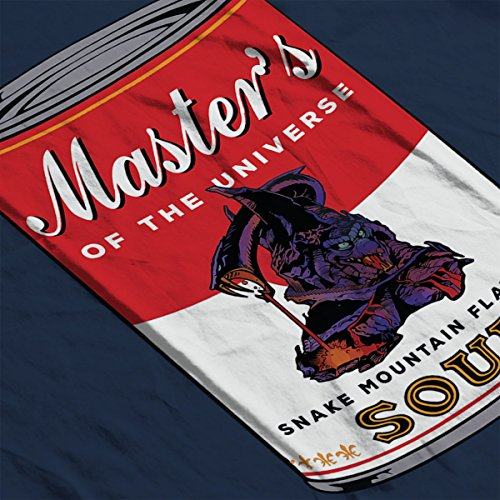 He Man Masters Of Universe Snake Mountain Flavoured Soup Men's Vest Navy Blue