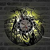 Best Conception avec Vinyl cadeaux pour les familles - OOFAY Clock@ Homme Araignée Horloge Pendules Vinyl Records Review