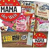 Beste Mama Geschenkbox - Mama Geschenk Idee - DDR Geschenk Set Süßigkeiten