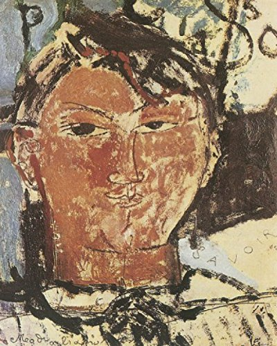1art1 58474 Amedeo Modigliani - Bildnis Pablo Picasso, 1915, Detail Poster Kunstdruck 50 x 40 cm -
