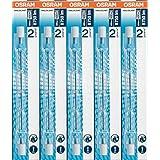 5 Stück Osram Halogenstablampe Haloline Pro, 64702, R7s, 230V, Länge: 118mm (400 Watt)