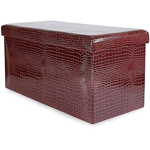 andrew-james-foldaway-ottoman-storage-box-in-red-crocodile-skin-design-76cm-x-38cm-x-38cm