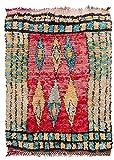 Trendcarpet Tappeto Berberi dal Marocco Boucherouite 210 x 150 cm