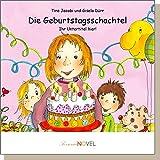 Die Geburtstagsschachtel (für Mädchen) -personalisiertes KINDERBUCH mit IHREM Kind in der Hauptrolle. Ein ganz persönliches Bilderbuch für Mädchen - inklusive Widmung und Illustrationen. Ein Buch über einen Geburtstag, als Geschenk zum Geburtstag. Für Geburtstagskinder zwischen vier und sechs Jahren.