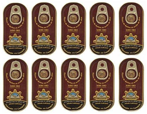 Codesa Gold Serie Sardellen 48 Gramm [PACK 10 UNITS]