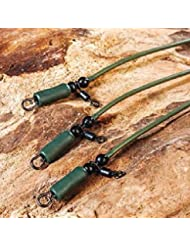 Kit de pêche à la carpe helicopter rig anti tangle tube carp tackle karpfenrig pour pêche à la carpe