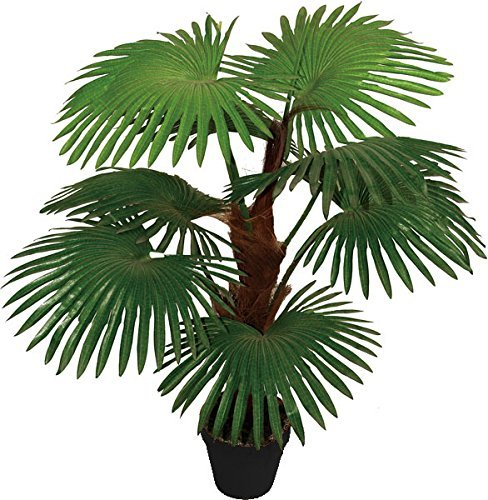 Best Artificial 90cm 3ft Fan Palm Tree Outdoor