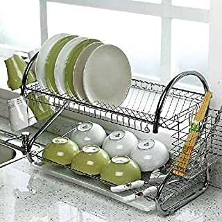 apgstore Abtropfgestell Edelstahl 2chrom Küchenutensilien Teller Rack