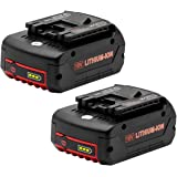Vinso - Batería de repuesto para Bosch BAT609 (18 V, 5 Ah, 2607336092, 2607336236, 2607336170, 2607336235, Bosch GBA BAT609,